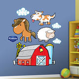 Farm Animals 2 Wall Decal