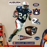 NCAA/NFLPA Auburn Tigers Cadillac Williams Wall Decal Sticker Wall Decal