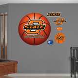 Oklahoma State University Basketball Logo   Wall Decal