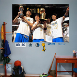 Dallas Mavericks Championship Mural Wall Decal