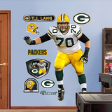 T.J. Lang Wall Decal