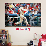 Chase Utley Mural Wall Decal