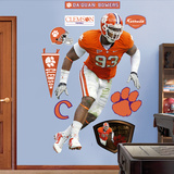 Da'Quan Bowers Clemson Wall Decal
