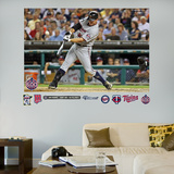 Jim Thome 600th Home Run Mural Wall Decal