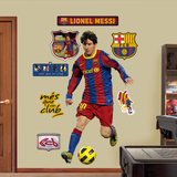 Lionel Messi Wallstickers