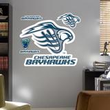 Chesapeake Bayhawks Logo  Wall Decal