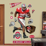 Beanie Wells Ohio State Wall Decal
