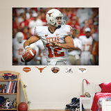 NCAA/NFLPA Texas Longhorns Colt McCoyMural Decal Sticker Wall Decal
