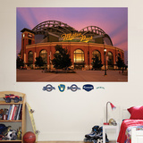 Milwaukee Brewers Miller Park Exterior Mural Wall Decal