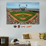 San Francisco Giants AT&T Park Stadium Mural   Autocollant mural