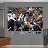 Tom Brady TD Dive Mural Wall Decal