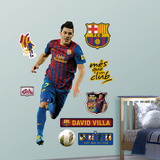 David Villa Wall Decal
