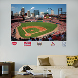 St. Louis Cardinals Busch Stadium Mural   Wall Decal