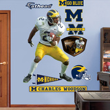 Charles Woodson Michigan 2011 Wall Decal