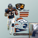 Knowshon Moreno 2011 Edition Wall Decal