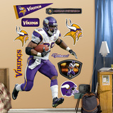 Adrian Peterson 2011 Edition Wall Decal
