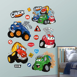 Chuck and Friends Wall Decal