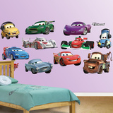 Cars 2 Collection Wall Decal Sticker Wall Decal