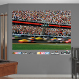 Daytona International Speedway Blur Mural Wall Decal