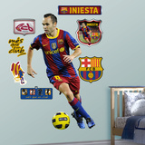 Iniesta Wall Decal