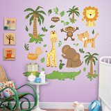 Zoo Collection Wallsticker