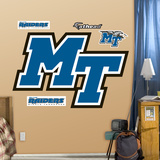 Middle Tennessee State Logo   Wall Decal