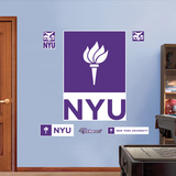 NY University Wall Decal