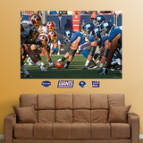 Giants-Redskins Line of Scrimmage Mural Wall Decal