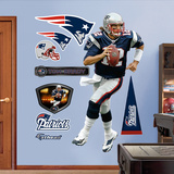 Tom Brady 2011 Edition Blue Wall Decal