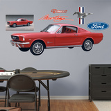 1965 Ford Mustang Wall Decal