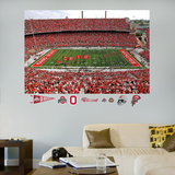 Ohio State Team Entrance Mural Wall Decal