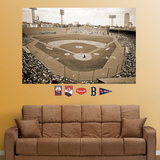 Boston Red Sox Fenway Park Historical Stadium Mural   Autocollant mural