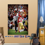 Mario Manningham NFC Championship TD Mural Wall Decal