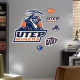 UTEP Logo Wall Decal