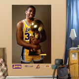 Magic Johnson Trophy Mural Wall Decal