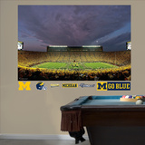 Michigan 2011 Night Game Mural Decal Sticker Veggoverføringsbilde