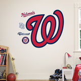 Washington Nationals Curly W Logo Wall Decal Wall Decal