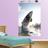 Shamu Jumping Mural Wall Decal