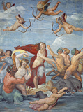 The Triumph of Galatea Wall Decal by Raphael 