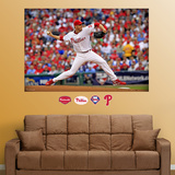 Roy Halladay Mural   Wall Decal