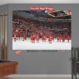 Detroit Red Wings Home Win Streak Mural Vægplakat
