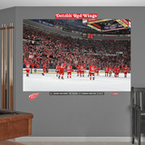 Detroit Red Wings Home Win Streak Mural Wall Decal