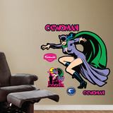 Cat Woman Wall Decal