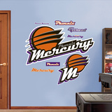 Phoenix Mercury Logo   Wall Decal
