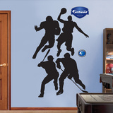 Various Sports Silhouettes Wall Decal