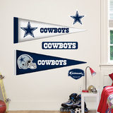 Dallas Cowboys NFL Pennant Wall Decal