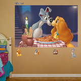 Lady Tramp Mural Wall Decal