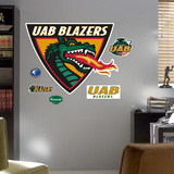 University of Alabama Birmingham Logo Wall Decal