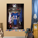 Buffalo Bills Locker Mural Wall Mural