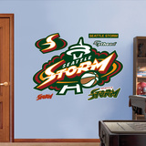 Seattle Storm Logo   Wall Decal